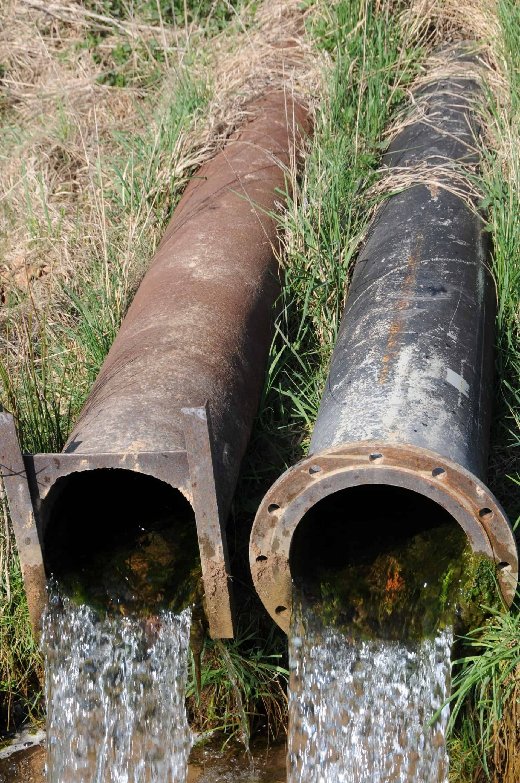 drainage-water