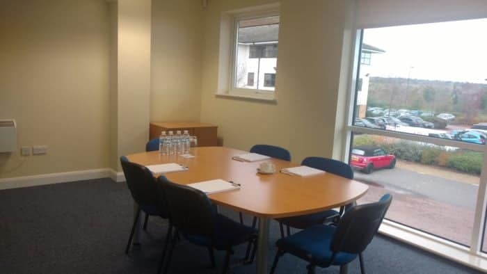 Boardroom in Levi Solicitors Wakefield