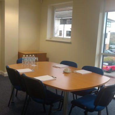 Boardroom in Levi Solicitors Wakefield